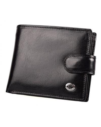 Мужской кожаный кошелек ST