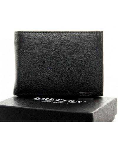 Мужской кожаный кошелек с зажимом BRETTON