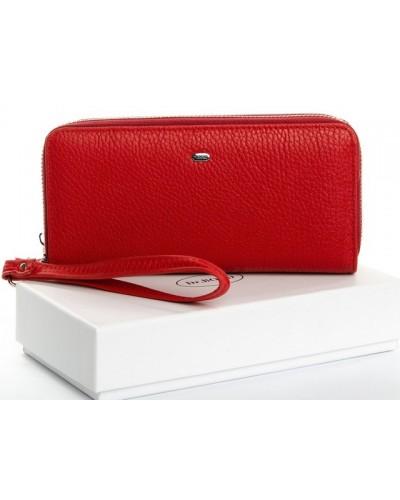 Женский кожаный кошелек на две молнии Dr.Bond