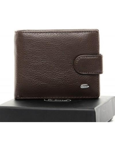 Мужской кожаный кошелек Dr.Bond маленький
