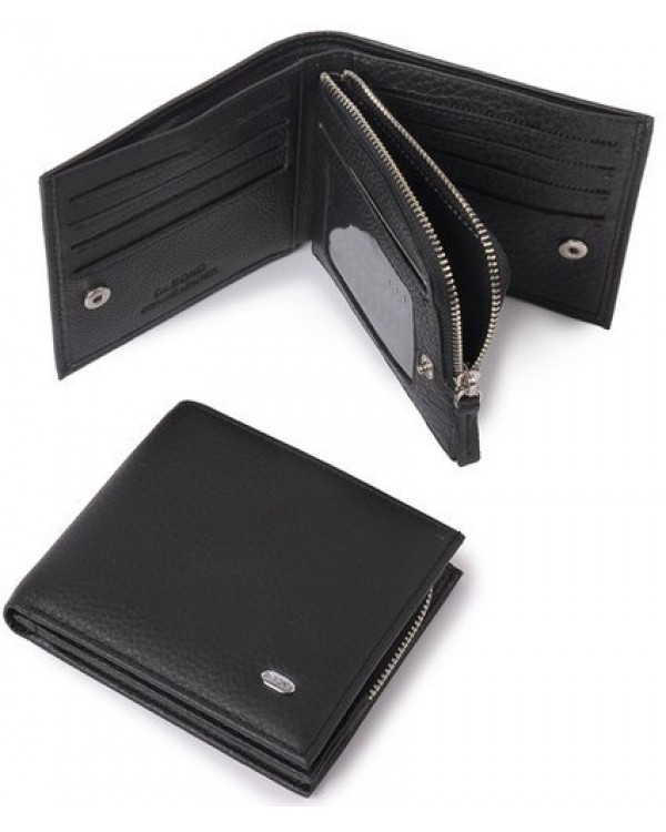 Мужской кожаный кошелек портмоне Dr.Bond