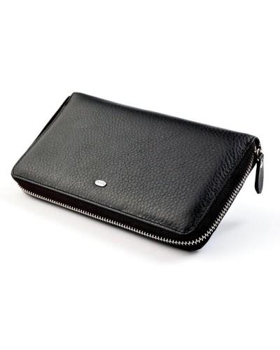 Мужской кожаный клатч кошелек dr.Bond на молнии