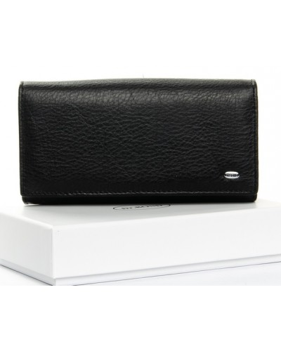 Женский кожаный кошелек Dr.Bond на магнитах с визитницей