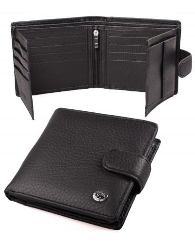 Мужской кожаный кошелек портмоне визитница ST